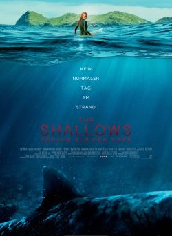 "Das Kino-Plakat von ""The Shallows"" (© Sony Pictures Germany)"