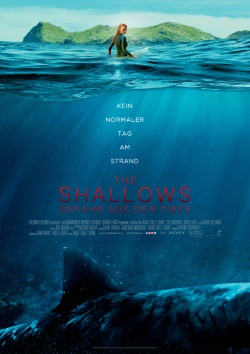 """Das Kino-Plakat von """"The Shallows"""" (© Sony Pictures Germany)"""