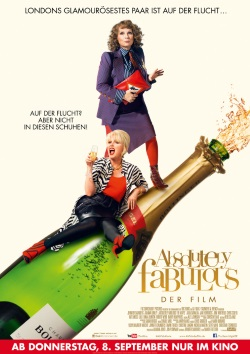"Das Kino-Plakat von ""Absolutely Fabulous"" (© Fox Deutschland)"