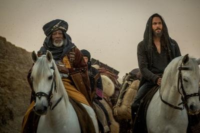 Der Scheich Ildirim unterstützt Ben Hur (© Paramount Pictures)