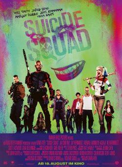 "Das Kino-Plakat von ""Suicide Squad"" (©Warner Bros Pictures/DC)"