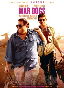 """Das Kino-Plakat von """"War Dogs"""" (© Warner Bros Pictures)"""