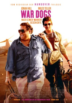 "Das Kino-Plakat von ""War Dogs"" (© Warner Bros Pictures)"
