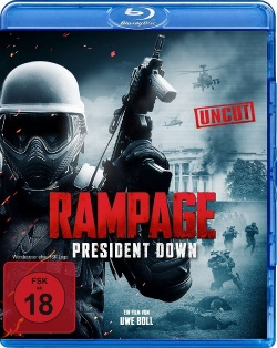 "Das Blu-ray-Cover von ""Rampage - President Down"" (© Splendid Film)"