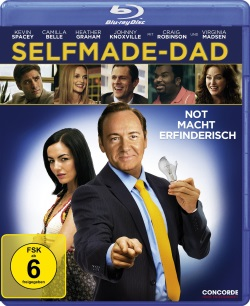 "Das Blu-ray-Cover von ""Selfmade-Dad"" (© Concorde Home Entertainment)"