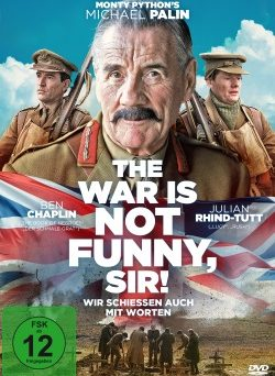 "Das DVD-Cover von ""The War Is Not Funny, Sir!"" (© Polyband)"