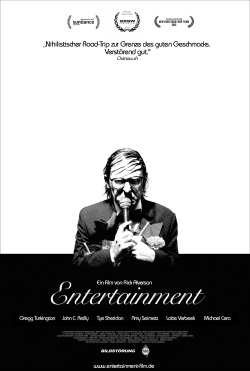 """Das Kino-Plakat von """"Entertainment"""" (© Bildstörung)"""