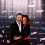 Alexsandar Jovanovic mit Schauspielkollegin und Ehefrau Clelia Sarto (© Thomas Trierweiler)