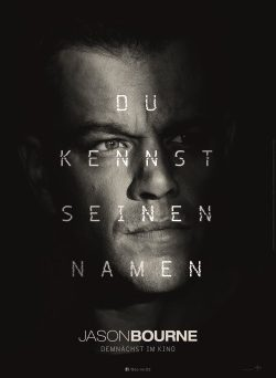 "Das Plakat von ""Jason Bourne"" (© Universal Pictures Germany)"