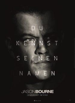 """Das Plakat von """"Jason Bourne"""" (© Universal Pictures Germany)"""