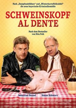 """Das Kino-Plakat von """"Schweinskopf al dente"""" (© Constantin Film)"""