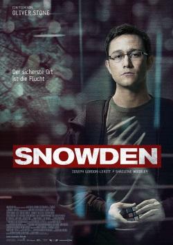 """Das Kino-Plakat von """"Snowden"""" (© Universum Film)"""