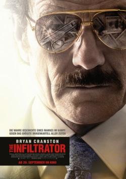 "Das Kino-Plakat von ""The Infiltrator"" (© Paramount Pictures)"
