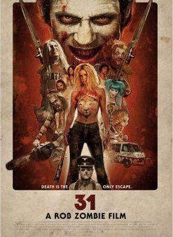"""Das Kino-Plakat von """"31"""" (© Tiberius Film)"""