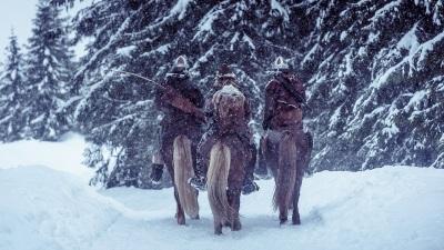 Unter unwirtlichen Bedingungen muss das Leben des Königssohns beschützt werden (© Koch Media)