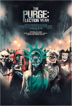 """Das Kino-Plakat von """"The Purge 3: Election Year"""" (© Universal Pictures Germany)"""