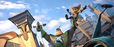 Ratchet und Clank werden überraschend zu großen Hoffnungsträgern (© Constantin Film)