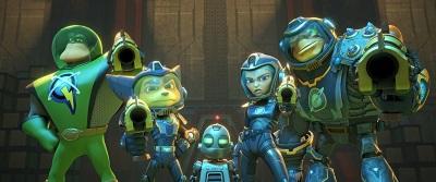 Können die beiden Außenseiter gemeinsam mit den Galactic Rangers die Galaxie retten? (© Constantin Film)