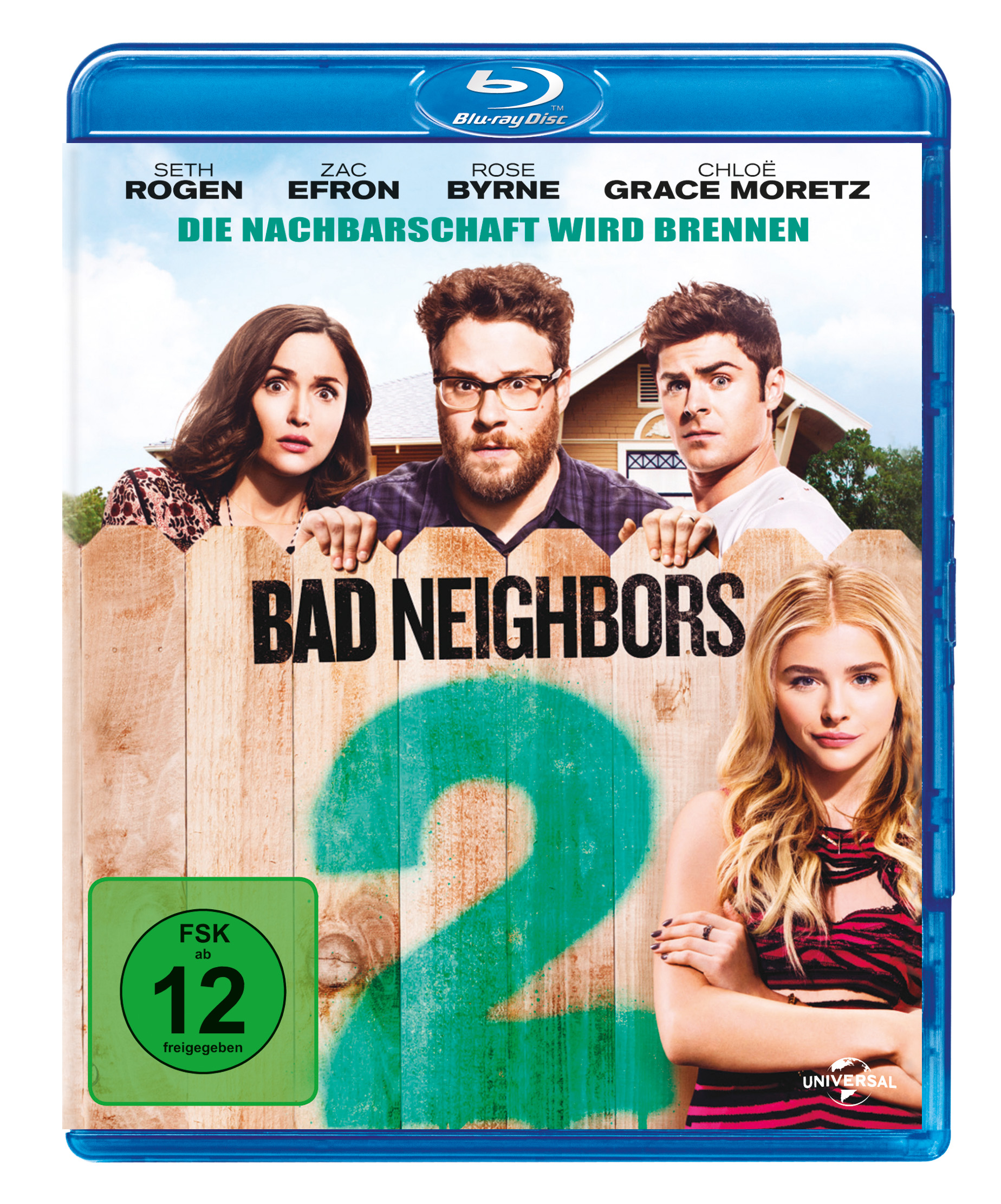 """Das Blu-ray-Cover von """"Bad Neighbors 2"""" (© Universal Pictures Germany)"""