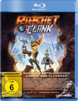 "Das Blu-ray-Cover von ""Ratchet & Clank"" (© Constantin Film)"