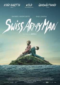 "Das Kino-Plakat von ""Swiss Army Man"" (© Capelight Pictures)"