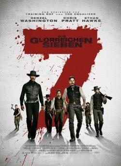 """Das Kino-Plakat von """"Die glorreichen Sieben"""" (© Sony Pictures Germany)"""