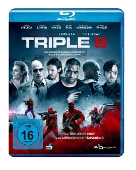 """Das Blu-ray-Cover von """"Triple 9"""" (© Wild Bunch Germany/Universum Film)"""