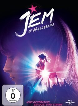 """Das DVD-Cover von """"Jem and the Holograms"""" (© Universal Pictures Germany)"""