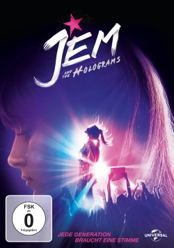 "Das DVD-Cover von ""Jem and the Holograms"" (© Universal Pictures Germany)"