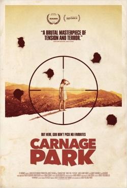 """Das Plakat von """"Carnage Park"""" (© Tiberius Film)"""
