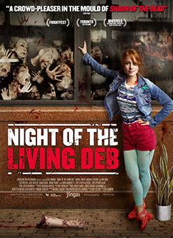 """Das Plakat von """"Night of the Living Deb"""" (© Tiberius Film)"""