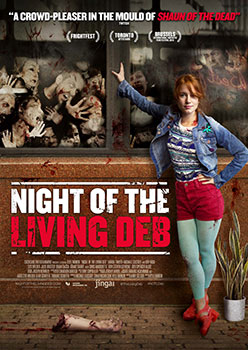 "Das Plakat von ""Night of the Living Deb"" (© Tiberius Film)"