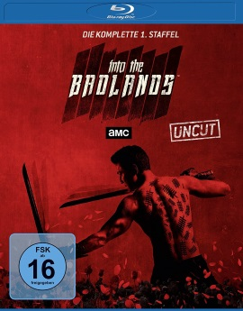 """Das Blu-ray Cover der ersten Staffel von """"Into the Badlands"""" (© Universum Film)"""