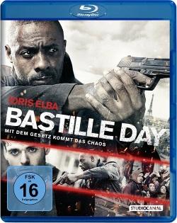"""Das Blu-ray-Cover von """"Bastille Day"""" (© StudioCanal)"""
