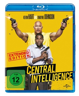 "Das Blu-ray-Cover von ""Central Intelligence"" (© Universal Pictures Germany)"