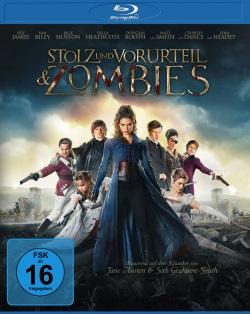 """Das Blu-ray-Cover von """"Stolz und Vorurteil & Zombies"""" (©SquareOne Entertainment/Universum Film)"""