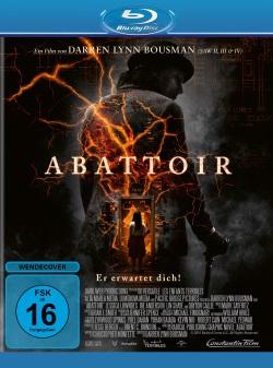 """Das Blu-ray-Cover von """"Abattoir"""" (© Constantin Film)"""