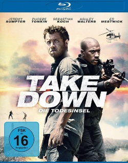 "Das Blu-ray-Cover von ""Take Down - Die Todesinsel"" (© Universum Film)"