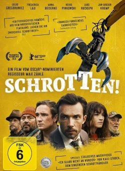 """Das DVD-Cover von """"Schrotten!"""" (© Port au Prince Pictures)"""