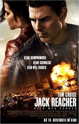 """Das Hauptplakat von """"Jack Reacher - Kein Weg zurück"""" (© Paramount Pictures Germany)"""