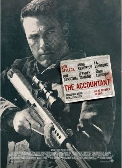 "Das Hauptplakat von ""The Accountant"" (© Warner Bros Pictures)"