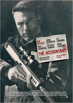 """Das Hauptplakat von """"The Accountant"""" (© Warner Bros Pictures)"""