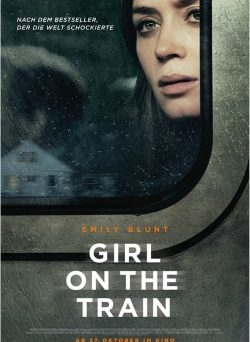 "Das Kino-Plakat von ""Girl on the Train"" (© Constantin Film)"