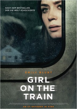 "Das Kino-Plakat von ""Girl on the Train"" (© Constantin Film)"