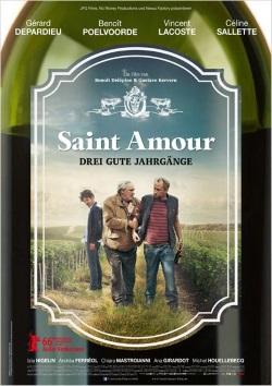 "Das Kino-Plakat von ""Saint Amour"" (© Concorde Film)"