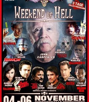 "Das Plakat vom ""Weekend of Hell"" (© Weekend of Hell)"