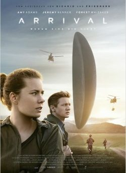 "Das Plakat von ""Arrival"" (© Sony Pictures Germany)"