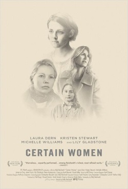 "Das Plakat von ""Certain Women"" (© Film Science)"