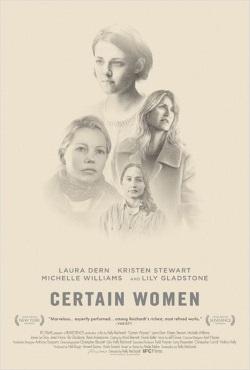 """Das Plakat von """"Certain Women"""" (© Film Science)"""