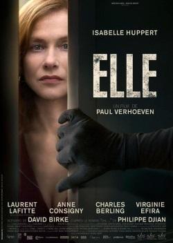 """Das französische Plakat zu """"Elle"""" (© 2016 SBS Productions, Twenty Twenty Vision Filmproduktion, France 2 Cinéma & Entre Chien et Loup)"""
